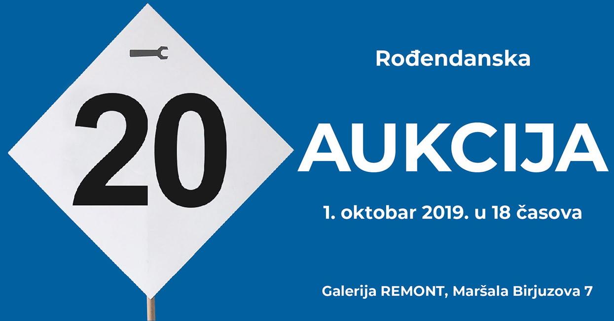 Aukcija povodom 20 godina Remonta
