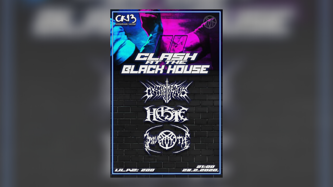 Clash at the Black House 2