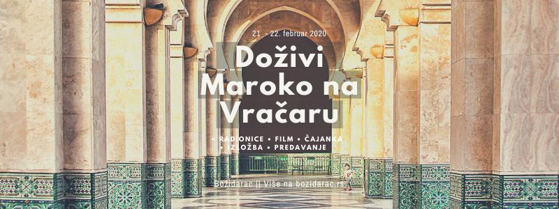 Doživi Maroko na Vračaru