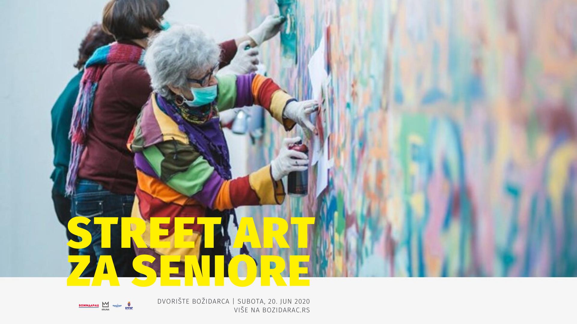Street Art za seniore u Božidarcu