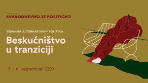 "Read more about the article Seminar ""Beskućništvo u tranziciji"" u CK13"