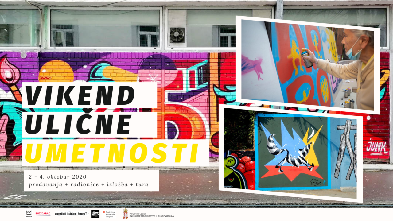 Drugi Vikend ulične umetnosti na Vračaru