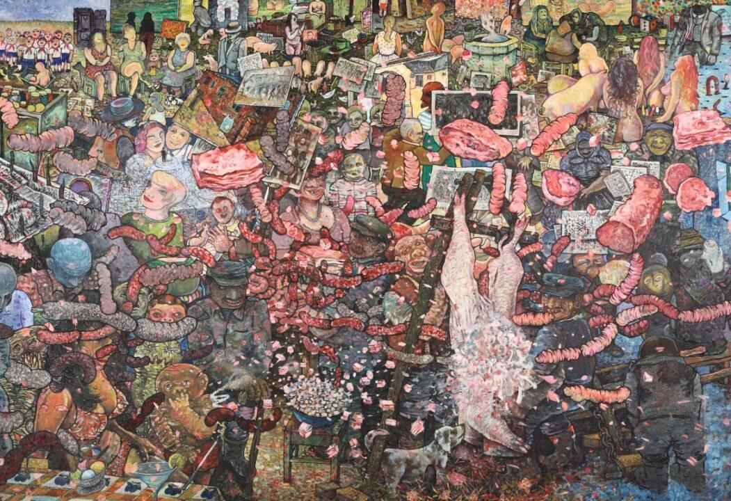 Izložba slika Radovana Jandrića u Galeriji `73