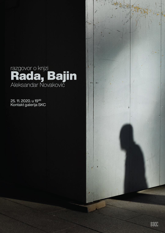 Razgovor o knjizi – Rada, Bajin – Aleksandar Novaković