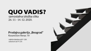 "Read more about the article Izložba slika ""Quo vadis?"" Mile Gvardiol"