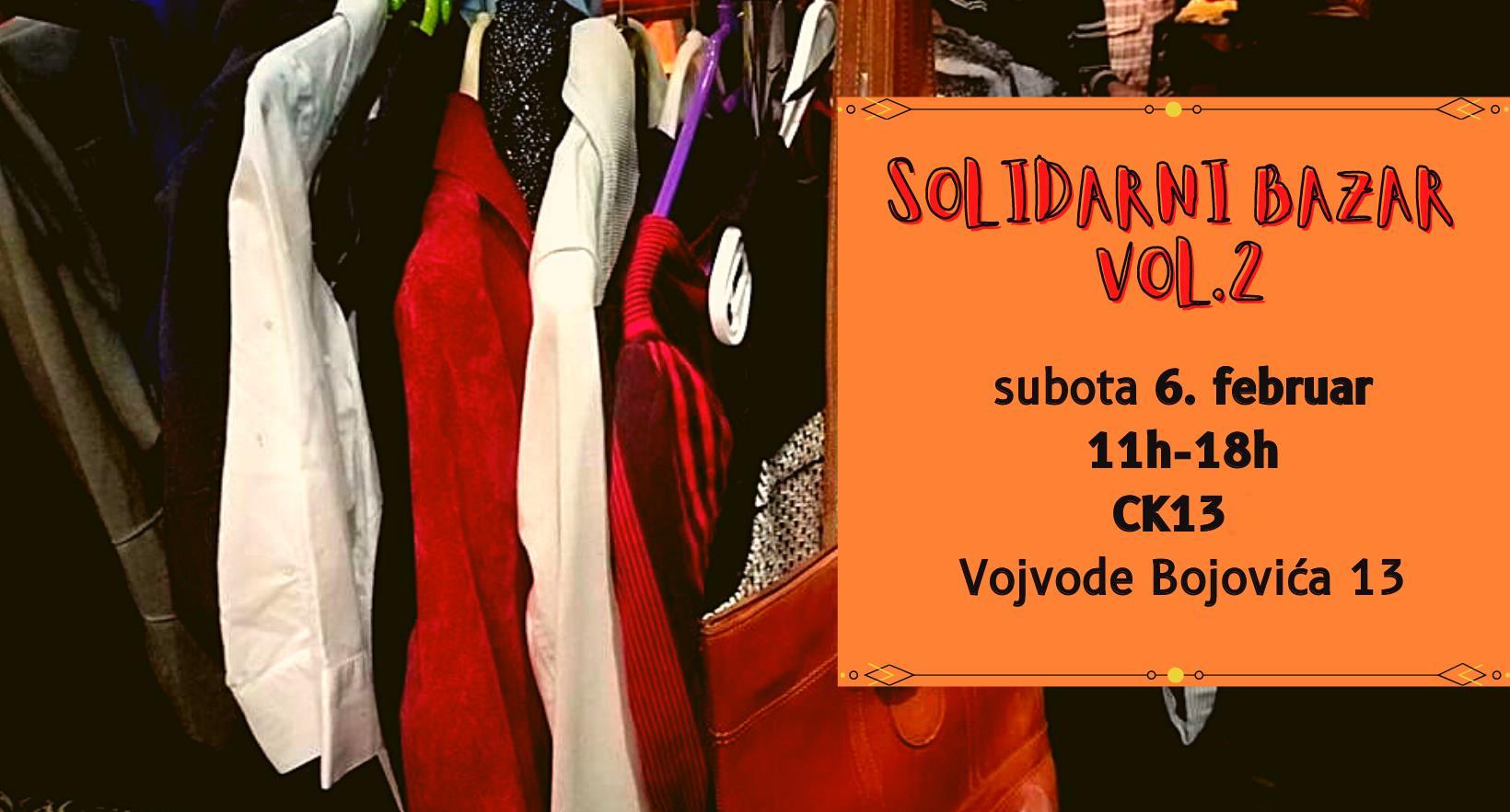 Solidarni bazar u Crnoj kući