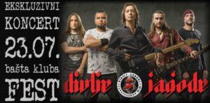 Read more about the article Divlje jagode – Ekskluzivni koncert u Festu!