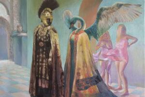 Read more about the article Samostalna izložba slika, performans i knjiga Jasne Opavski: Mater – Pater