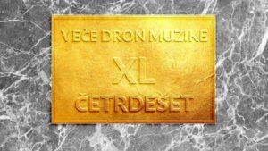 Read more about the article Veče Dron Muzike po 40. put u Crnoj kući