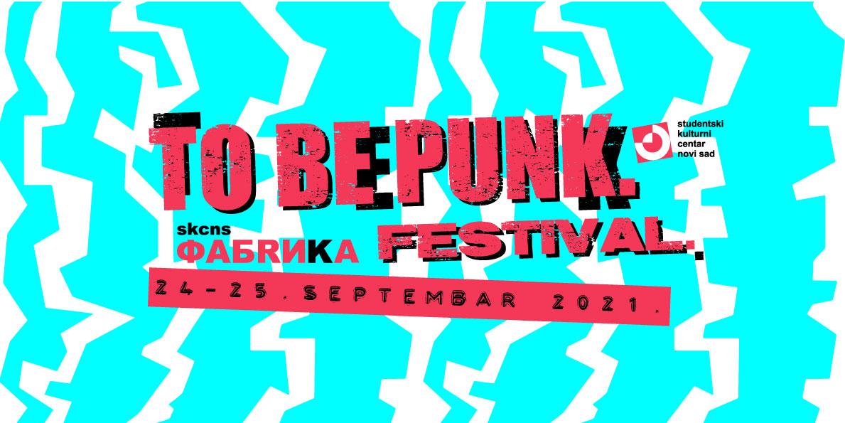 To Be Punk. Festival. plakat